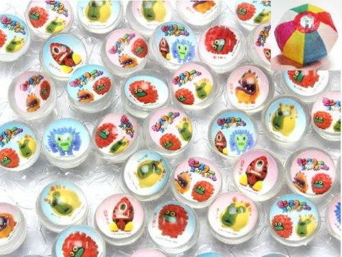 Super ball Monster 27mm100 into and enjoy goods (paper balloons) with set [toy & hobby]