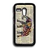 Elephant On Dictionary Motorola Case, Moto G Case, Motorola G Case, Moto G 1st Gen Case