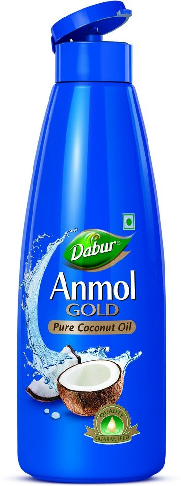 Dabur Anmol Gold Pure Coconut Oil 500 ml @ Amazon.in -Rs.110 – Personal care & Cosmetics