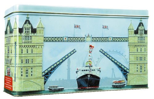 Walkers Tower Bridge Tin Scottish Biscuit Selection 500 g