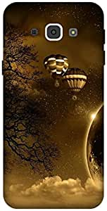 The Racoon Lean printed designer hard back mobile phone case cover for Samsung Galaxy A8. (hot air ba)