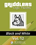 Griddlers Logic Puzzles: Black and White (Volume 12)