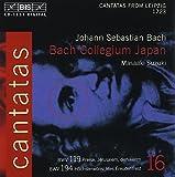 Bach: Cantatas, Vol 16 (BWV 194, 119) /Bach Collegium Japan · Suzuki
