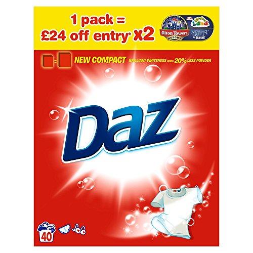 Daz Reg Powder 40Wash 2.6Kg x 1 pack