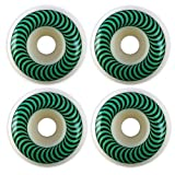 Spitfire Classic Series 52mm High Performance Skateboard Wheel (Set of 4) (Color: White, Tamaño: 52mm)