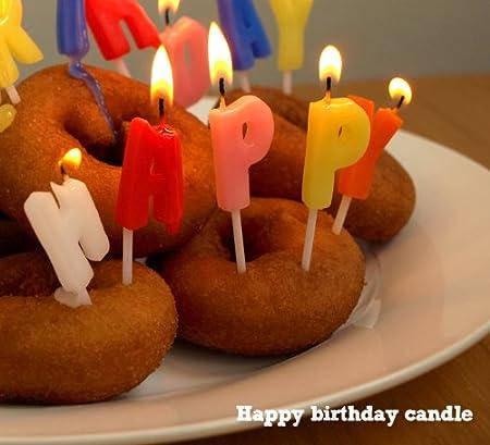 happy birthday candle たんじょうび おめでとう キャンドル ろうそく