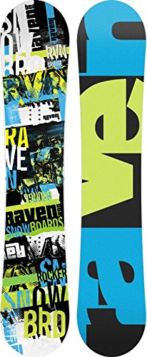 Snowboard Raven Grunge Green Rocker