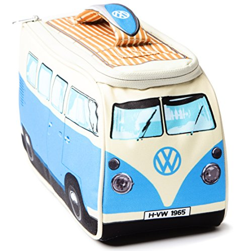 VW Volkswagen T1 Camper Van Lunch Bag - Blue - Multiple Color Options Available (Vintage Vw compare prices)