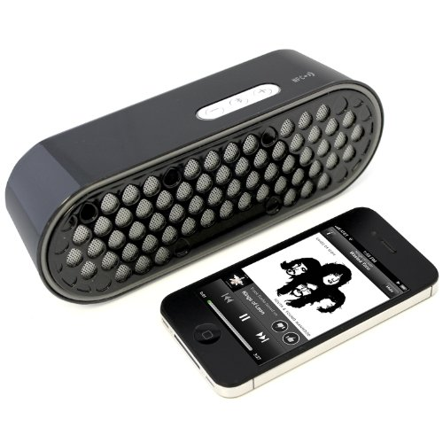Wireless Bluetooth Speaker- Blkbox Soundstone Hands Free Bluetooth Speaker With Nfc - For Iphone, Ipod, Ipads, Android, Bluetooth Phones, Samsung Galaxy, Note, Nexus, All Other Smart Phones, Tablets And Computers