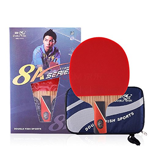 Double Fish Carbon Table Tennis Racket 8 Star 8A-C, Ping Pong Paddle, Table Tennis Racquet - Shakehand