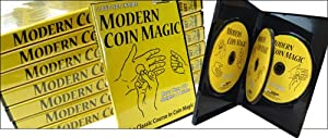 Modern Coin Magic, 4 DVD Set! More Than 170 Sleights and Tricks!