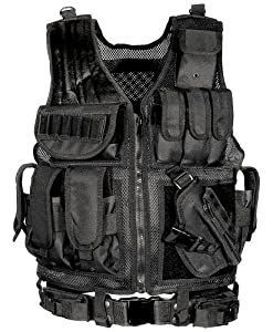 UTG Sportsman Tactical Scenario Vest, Black