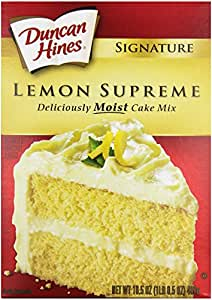 Duncan Hines Different Cake Mixes