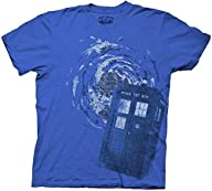 Men's Dr. Doctor Who Tardis Time Vort…