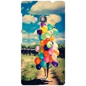 Nokia Lumia 535 Beautiful Life Matte Finish Phone Cover
