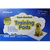 All-absorb Training Pads 100-count, 22-inch By 23-inch