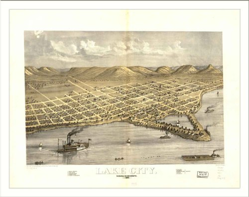 Historic Lake City, Minnesota, c. 1867
