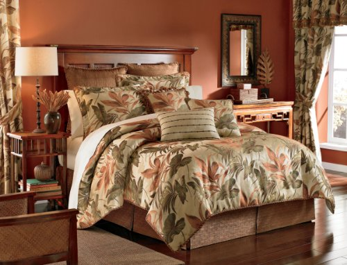 Croscill Home Fashions Bali 4-Piece Harvest Queen Size Comforter Set front-902083