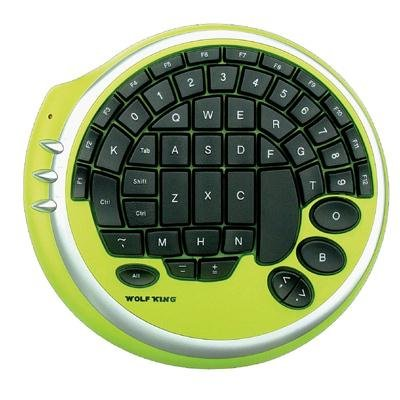 Warrior-Gaming-Keypad-Green