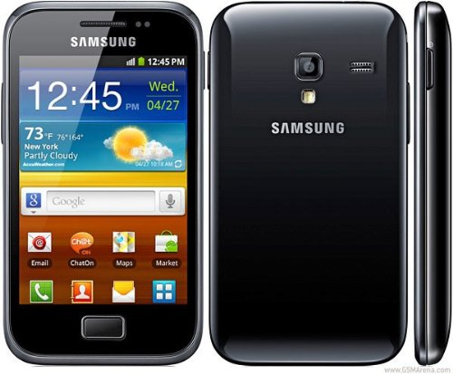 Link to Samsung GT-S7500 Galaxy Ace Plus – Unlocked Phone – International Version – Dark Blue Get Rabate