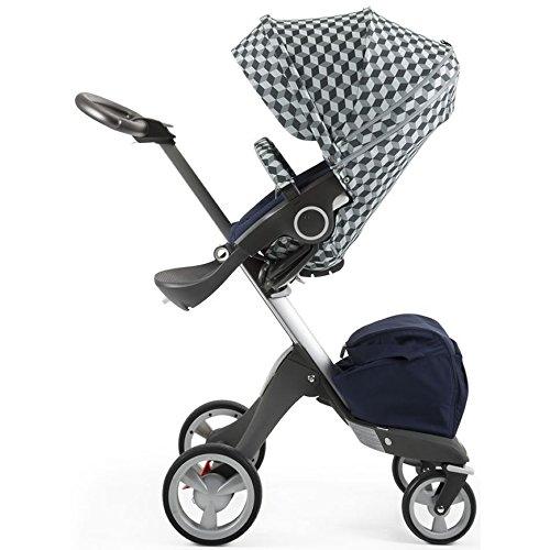 Stokke Stroller Style Kit Seat - Grey Cube