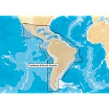 Navionics Updates NAVU-3XG Caribbean and South America Marine Charts on SD/MSD