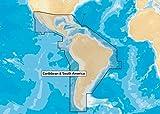 Navionics+ Caribbean and South America Marine and Lake Charts on SD/MSD