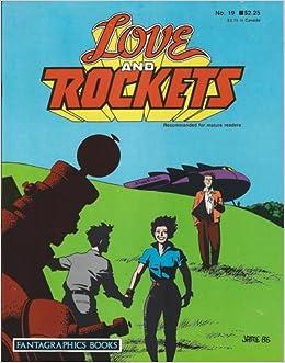 #19 LOVE AND ROCKETS vintage comic magazine