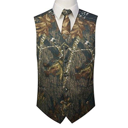 Camouflage Vest & Tie Large with Neck Tie (Camo Neck Ties compare prices)