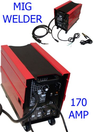 Pedro Lima Melo: 170 AMP MIG MAG Arc Flux Wire Welder
