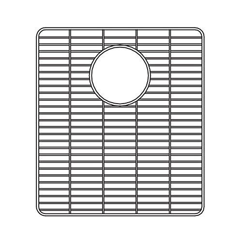 Houzer Bg  Wirecraft Kitchen Sink Bottom Grid   Inch By   Inch