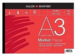 Daler-Rowney Marker Paper Pad A3