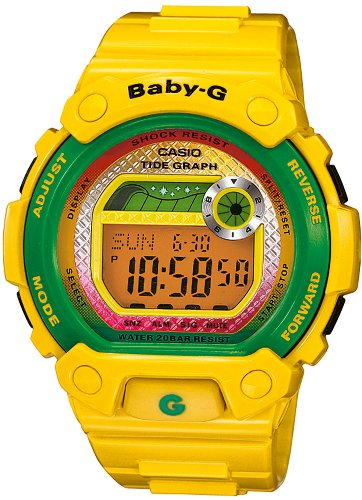 Casio Baby-G BLX-100-9ER Ladies Watch