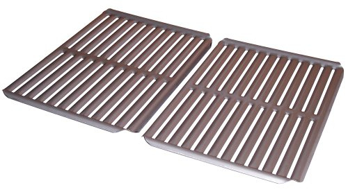 Music City Metals 532S2 Stamped Stainless Steel Cooking Grid Replacement for Select Ducane Gas Grill Models, Set of 2