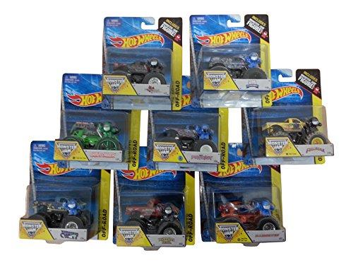 Hot Wheels 21572 2er Set Monster Truck 1:64 sortierte Auslieferung