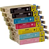 7 CiberDirect Compatible Ink Cartridges for use with Epson Stylus Photo RX640 Printers.