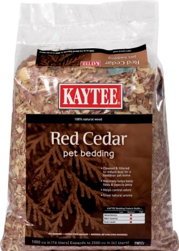 Kaytee Cedar Pet Bedding for Pet Cages, 1000