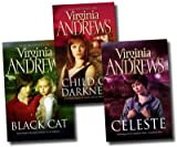 Virginia Andrews Virginia Andrews Gemini Series 3 Books Set Collection Pack (Celeste, Black Cat, Child of Darkness) (Gemini Series)