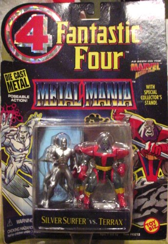 Fantastic Four Metal Mania - Silver Surfer vs. Terrax - 1