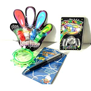 Rave Flashing Glow in the Dark LED Novelty Gift Set