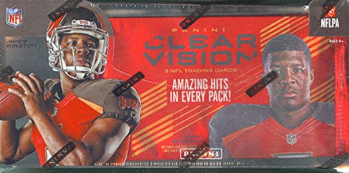 2015 Panini Clear Vision Football HOBBY box (6 pk)