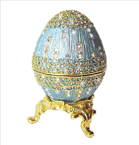 Faberge Egg Ring Box