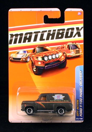 FORD F-100 PANEL DELIVERY City Action Series (#12 of 15) MATCHBOX 2010 Basic Die-Cast Vehicle (#69 of 100) - 1