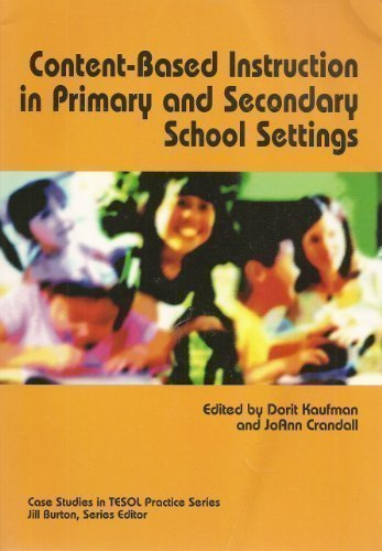 Content-Based Instruction in Primary And Secondary School Settings (Case Sudies in TESOL Practice Series)