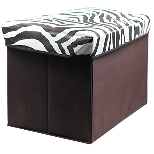 abo home storage ottoman collapsible storage bench seat foldable storage seating foot rest. Black Bedroom Furniture Sets. Home Design Ideas