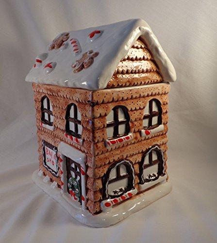 COOKIE JAR GINGERBREAD HOUSE