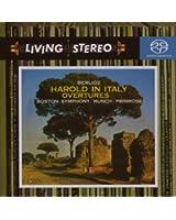 Berlioz : Harold en Italie / Ouvertures : Béatrice et Benedict ; Le Corsaire ; Le Carnaval romain ; Benvenuto Cellini [Hybrid SACD]