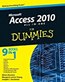 img - for Access 2010 All-in-One For Dummies by Alison Barrows (11-May-2010) Paperback book / textbook / text book