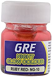 GRE Acrylic Night Glowl Paint (Ruby Red)