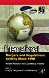 img - for International Mergers and Acquisitions Activity Since 1990: Recent Research and Quantitative Analysis (Quantitative Finance) book / textbook / text book